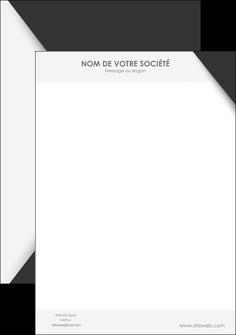 Impression Papier entête de lettre  papier à prix discount et format Tête de lettre A4