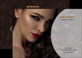 creation graphique en ligne flyers cosmetique beaute bien etre coiffure MLGI28807