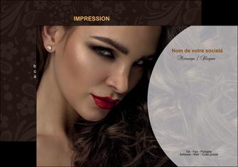faire flyers cosmetique beaute bien etre coiffure MLGI28809