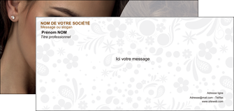 impression carte de correspondance cosmetique beaute bien etre coiffure MLGI28813