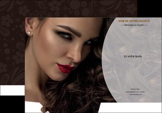 imprimerie pochette a rabat cosmetique beaute bien etre coiffure MLGI28821