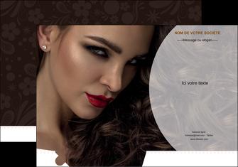 maquette en ligne a personnaliser pochette a rabat cosmetique beaute bien etre coiffure MLGI28823
