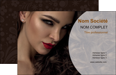 modele carte de visite cosmetique beaute bien etre coiffure MLGI28825