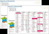 personnaliser modele de flyers gabarit calendrier 2020 bancaire a4 recto et verso calendrier de bureau 12 mois MLGI28875