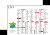 cree affiche calendrier bancaire 2017 a3 calendrier de bureau 12 mois MLGI28879