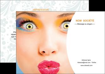 creation graphique en ligne flyers centre esthetique  beaute bien etre coiffure MLGI29027