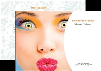 exemple flyers centre esthetique  beaute bien etre coiffure MLGI29029