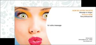 impression carte de correspondance centre esthetique  beaute bien etre coiffure MLIP29033