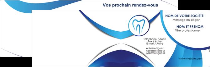 personnaliser modele de carte de visite dentiste dents dentiste dentier MLGI29093