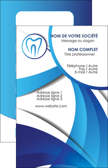 creation graphique en ligne carte de visite dentiste dents dentiste dentier MLGI29095