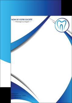faire modele a imprimer affiche dentiste dents dentiste dentier MLGI29117