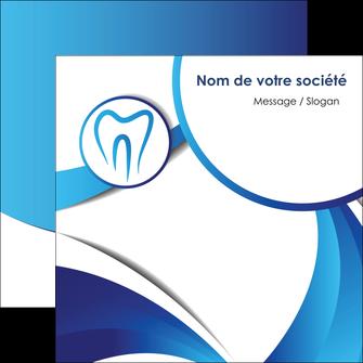 maquette en ligne a personnaliser flyers dentiste dents dentiste dentier MLGI29123