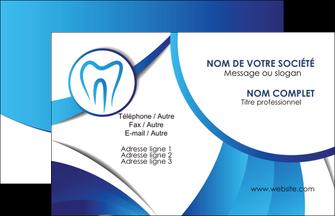 faire modele a imprimer carte de visite dentiste dents dentiste dentier MLGI29125