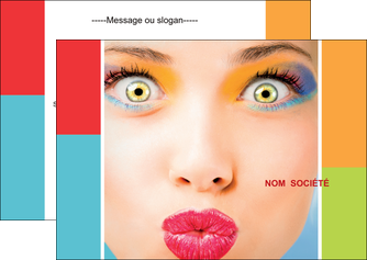 maquette en ligne a personnaliser flyers cosmetique beaute bien etre coiffure MLGI29319