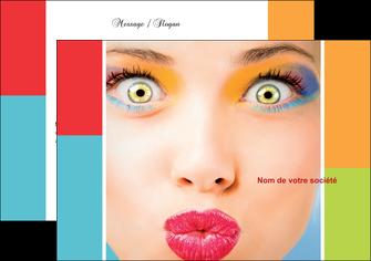 faire modele a imprimer flyers cosmetique beaute bien etre coiffure MLGI29321