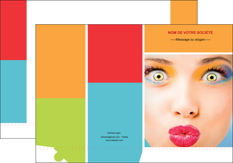 faire modele a imprimer pochette a rabat cosmetique beaute bien etre coiffure MLGI29335