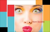 creer modele en ligne carte de visite salon de coiffure beaute bien etre coiffure MLGI29337