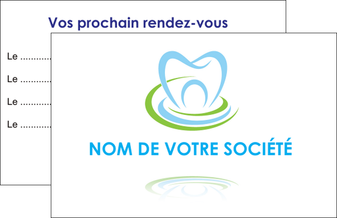 Imprimer Carte De Visite Dentiste Dents Dentisterie MLGI29421
