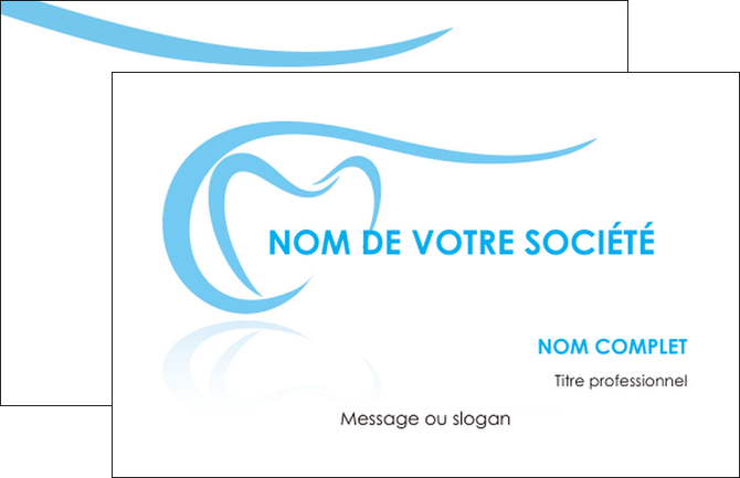 Exemple Carte De Visite Dentiste Dents Dentisterie MLGI29451