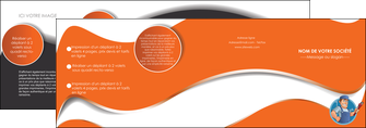 imprimerie depliant 4 volets  8 pages  plomberie travail travailleur casquette MLGI29501