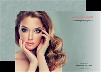 faire affiche centre esthetique  beaute bien etre coiffure MLGI29605