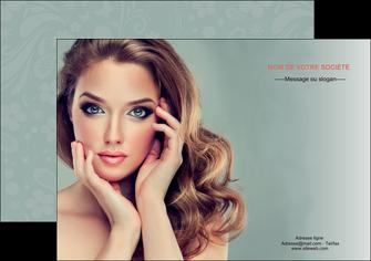 creation graphique en ligne affiche centre esthetique  beaute bien etre coiffure MLGI29607