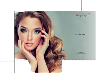 realiser pochette a rabat centre esthetique  beaute bien etre coiffure MLGI29615