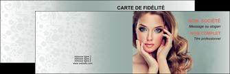 personnaliser modele de carte de visite centre esthetique  beaute bien etre coiffure MLGI29621