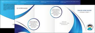 personnaliser modele de depliant 4 volets  8 pages  infirmier infirmiere medecin medecine sante MIF29637