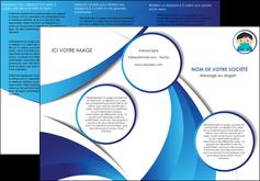 imprimerie depliant 3 volets  6 pages  infirmier infirmiere medecin medecine sante MIF29645