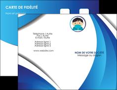 personnaliser maquette carte de visite infirmier infirmiere medecin medecine sante MIF29653