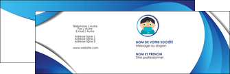creation graphique en ligne carte de visite infirmier infirmiere medecin medecine sante MIF29663