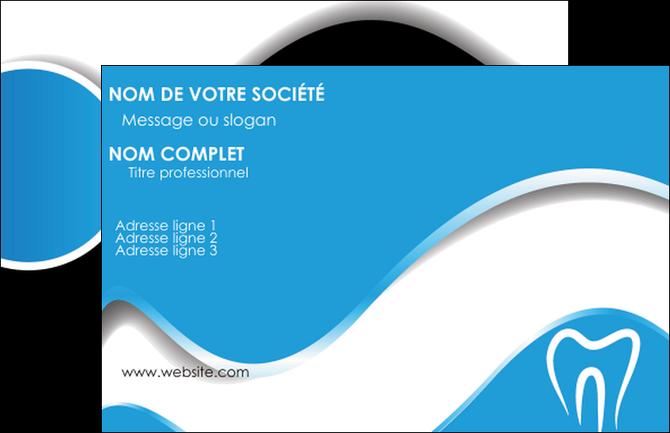 Modele En Ligne Carte De Visite Dentiste Dents Dentisterie MLGI29665