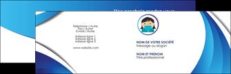 creer modele en ligne carte de visite infirmier infirmiere medecin medecine docteur MLGI29703
