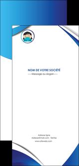 creation graphique en ligne flyers infirmier infirmiere medecin medecine docteur MLGI29705