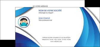 maquette en ligne a personnaliser carte de correspondance infirmier infirmiere medecin medecine docteur MLGI29729
