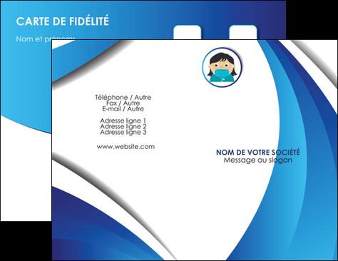 imprimer carte de visite infirmier infirmiere medecin medecine docteur MIF29733