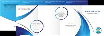 creation graphique en ligne depliant 4 volets  8 pages  infirmier infirmiere medecin medecine docteur MLGI29833