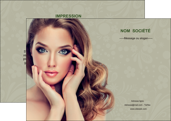 faire modele a imprimer flyers centre esthetique  beaute bien etre coiffure MLGI29865