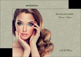 modele en ligne flyers centre esthetique  beaute bien etre coiffure MLGI29867