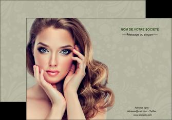 modele en ligne affiche centre esthetique  beaute bien etre coiffure MLGI29869