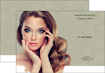 modele en ligne pochette a rabat centre esthetique  beaute bien etre coiffure MLGI29881
