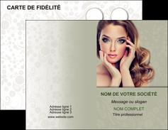 faire modele a imprimer carte de visite centre esthetique  beaute bien etre coiffure MLGI29885
