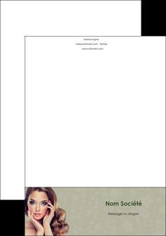 creation graphique en ligne tete de lettre centre esthetique  beaute bien etre coiffure MLGI29887