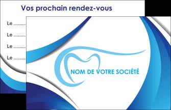 Imprimerie Carte De Visite Dentiste Dents Dentisterie MLGI29929