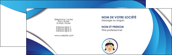 creer modele en ligne carte de visite infirmier infirmiere medecin medecine docteur MIF30003