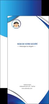 creer modele en ligne flyers infirmier infirmiere medecin medecine docteur MIF30005