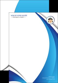 personnaliser modele de flyers infirmier infirmiere medecin medecine docteur MIF30013