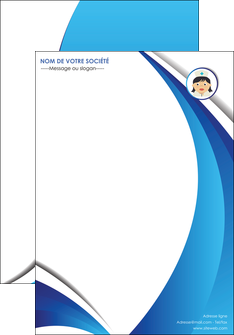 personnaliser modele de affiche infirmier infirmiere medecin medecine docteur MIF30021