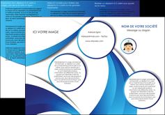 modele en ligne depliant 3 volets  6 pages  infirmier infirmiere medecin medecine docteur MIF30025